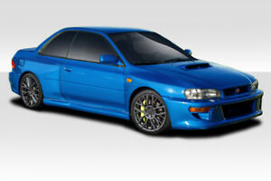 93 01 Subaru Impreza 22b Look Duraflex Wide Body Kit Fenders 114128