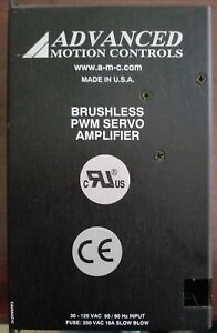 Advanced Motion Control Brushless Servo Amplifier B25a20acq hsi