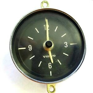 Vintage Volvo Vdo Car Clock 370 216 6 1 Made In Germany 12volt