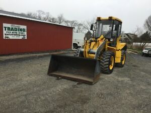 2007 Coyote C17 4 4x4 Compact Wheel Loader W Cab Forks