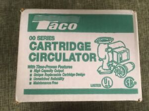 Taco 005 f2 Pump circulator 1 35hp 115 Volt