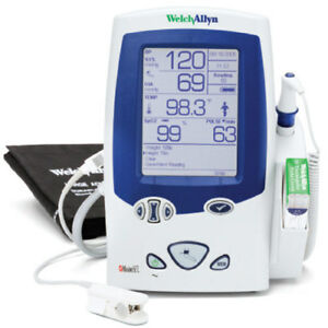 Welch Allyn Lxi Spot Vital Signs W Bp And Suretemp Plus Thermometer Demo