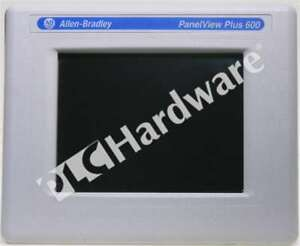 Allen Bradley 2711p t6c20a8 a Panelview Plus 6 600 6 in Color Touch Ac