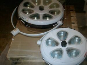 Skytron Two Surgical Light Heads If22 And If30