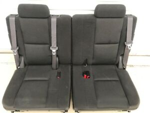 2007 2014 3rd Row Seats Black Cloth Seats Tahoe Suburban Yukon Cadillac