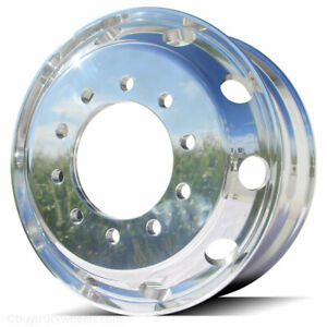 22 5 X 8 25 Northstar Polished Alcoa Classic Style Aluminum Forged Wheel