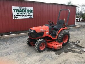 2004 Kubota B7510 4x4 Hydrastatic Compact Tractor W Mower Coming In Soon