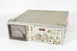Hp Hewlett Packard 8558b Spectrum Analyzer 853a