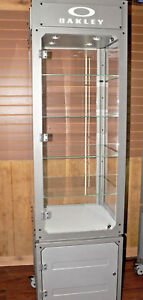 Oakley Led Lighted Display Cabinet Euc