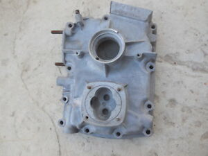 Porsche 356 Engine Case Third Piece Timing Cover 715814 15