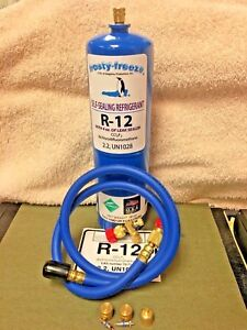 R12 Refrigerant R 12 28 Oz With Leak Stop Proseal Xl4 Good For Up To 5 Hp