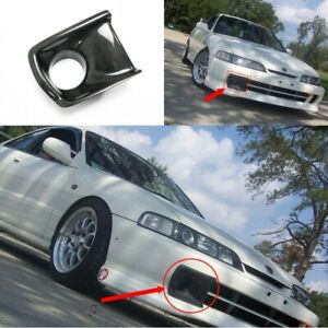 Front Bumper Vent Air Duct Intake Cover For Honda Integra Dc2 Jdm Carbon Fiber