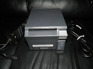 Epson Tm t70ii Thermal Pos Receipt Printer M296a With Ethernet