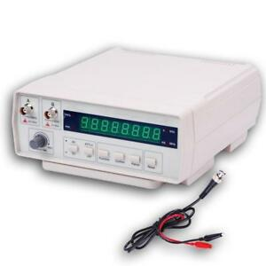Frequency Counter Risepro Digital Bench Signal Meter With Ac Power Cable