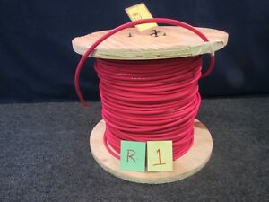 738 Ft Interstate 6 Ga Awg Sgx Sae J1127 Red Electrical Copper Wire Cable New