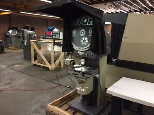 Nikon Model V 20a 20 Vertical Projection Optical Comparator Measuring Machine