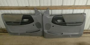 Ford Ranger Door Panels Both L R Gray Oem 1993 1994