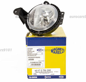 Mini Cooper Magneti Marelli Left Right Fog Light Assembly Lac080 63172751295
