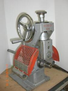 Ridgid Rigid 925 Groover With Drive Bar And Die