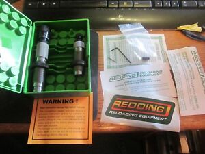 Redding 308 Winchester type S 36155 Match Competition Full Die Set NIB