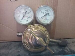 Victor Sr 450 D Gas Regulator W Gauges