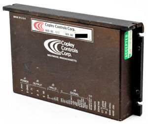 Copley Controls Model 513 Industrial Motor Drive Dc Brushless Servo Amplifier