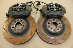 2011 2014 Dodge Charger Srt8 Super Bee Front Brembo Brake Calipers