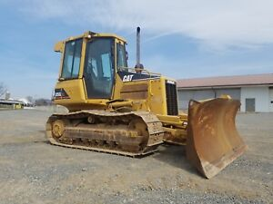 2005 Caterpillar D5g Xl Bulldozer Diesel Crawler Tractor Construction Machine