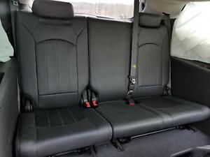 09 17 Chevrolet Traverse 3rd Row 60 40 Bench Seat Black Leather