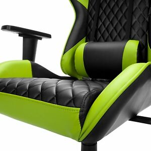 Respawn 100 Racing Style Gaming Chair Reclining Ergonomic Leather Chair green