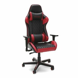 Respawn 100 Racing Style Gaming Chair Reclining Ergonomic Leather Chair red
