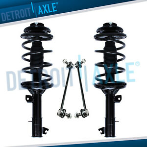 Front Strut Sway Bar Link Kit For 2001 2002 2003 2004 2005 2006 Hyundai Santa Fe