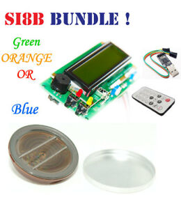 Geiger Counter Dosimeter Kit Assembled w Si8b Tube Usb Ir Arduino Compatible