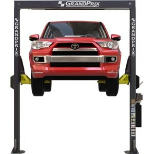 Bendpak Grand Prix Two post 7 000 Lb 8 Ft Lift Gp 7lcs