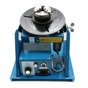 Rotary Welding Positioner Turntable Table Mini 2 5 3 Jaw Lathe Chuck Video