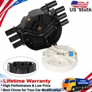 Carbole Distributor Cap And Rotor For Chevrolet Astro S10 Gmc Jimmy V6 4 3l Us