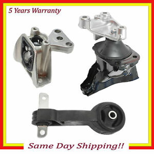 For Honda Civic Lx Coupe Fwd 1 8l Engine Motor Transmission Mount Set 3pcs