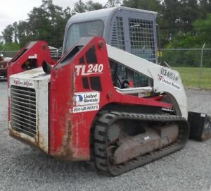 2011 Takeuchi Tl240 Tracked Skid Steer Loader W Cab Coming In Soon