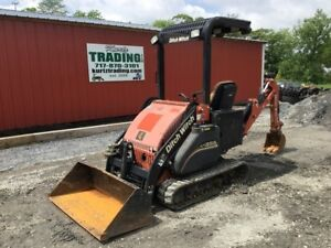 2013 Ditch Witch Xt855 Crawler Loader Backhoe