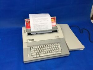 Smith Corona 350 Dle Electronic Typewriter Spell Right Dictionary Mint