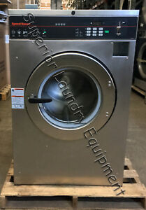 Speed Queen Scn040jc2 Washer 40lb Coin 220v 1ph Reconditioned