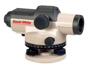 David White Al8 32 32 power Automatic Optical Level In Hard Carry Case
