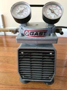 Gast Compresssor Vacuum Pump Model Doa p184 aa In Great Working Condition