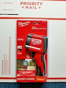 Milwaukee Laser Temperature Gun Infrared 10 1 Thermometer 2267 20h Free S