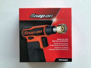 new Snap On Orange High power Butane Gas Blow Torch 50 820 Watts Torch400o