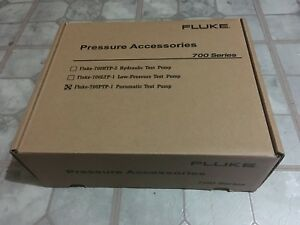 Fluke 700ptp 1 Pneumatic Test Pump 600 Psi New In Box