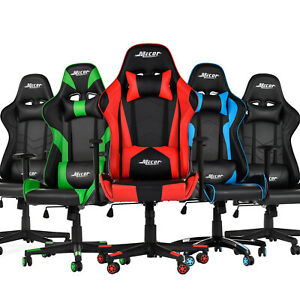 Adjustable Recliner Racing Gaming Office Chair Executive High Back Computer