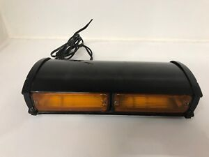 Whelen Model Dmp2s Dash Board Yellow Emergency Strobe Light