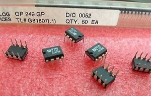 10pcs Op249gp Ad Precision Jfet High Speed Dual Operational Amplifier Ic Op249