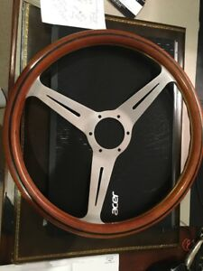 Vintage 14 5 Nardi Wood Steering Wheel Mercedes Porsche Jaguar Bmw Ferrari Vw
